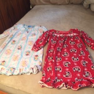 Flannel nightgown bundle